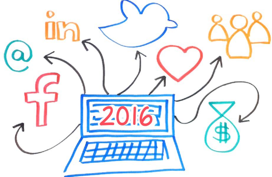 Algunas predicciones de Social Media para 2016